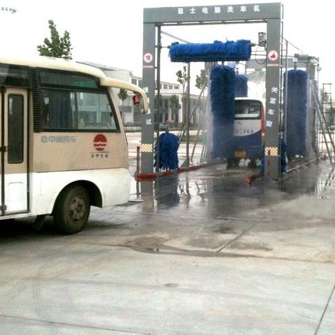Drive Through Bus wash system