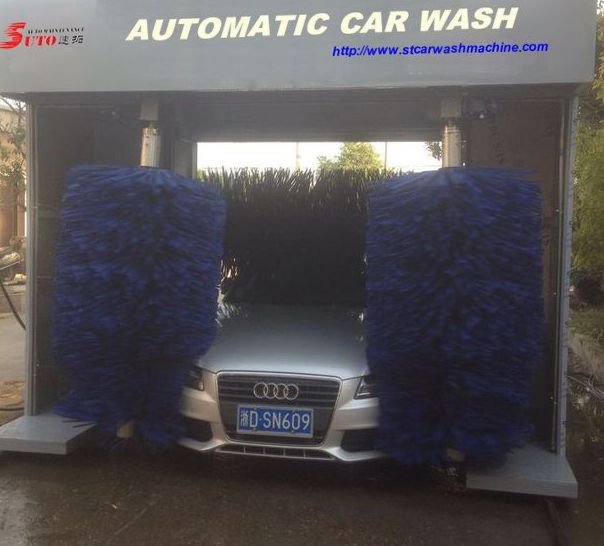 Roll-Over Car Wash System