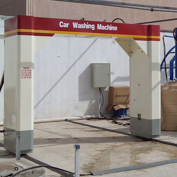 Touch Free Car Wash System