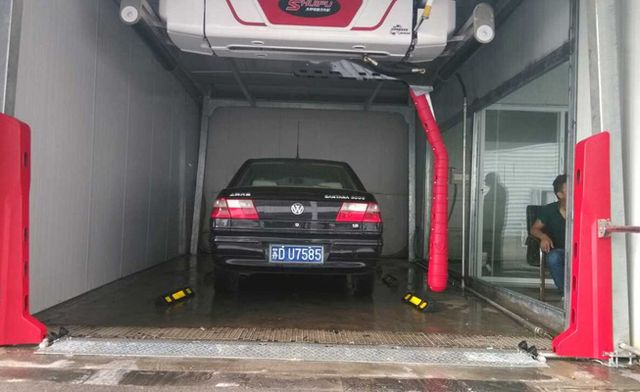 berøre gratis automatisk kjøretøy bilvask